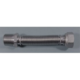TUBO D12 1/2HMS EXTENS FLEXIBLE ACERO INOXIDABLE 13 MM
